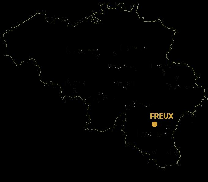 carte freux belgique