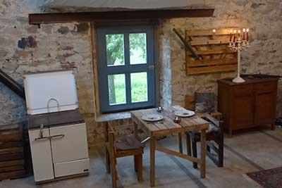 La chambre au bois cuisine
