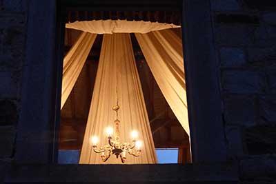 La chambre au bois lustre