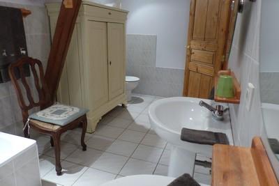 Salle de bain - Gîte - La Héronnière